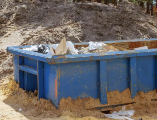 Contenedores de escombros, ¿se reciclan?